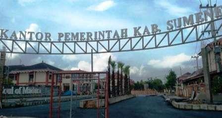 Proses penyelesaian renovasi Kantor Pemerintah Kabupaten Sumenep