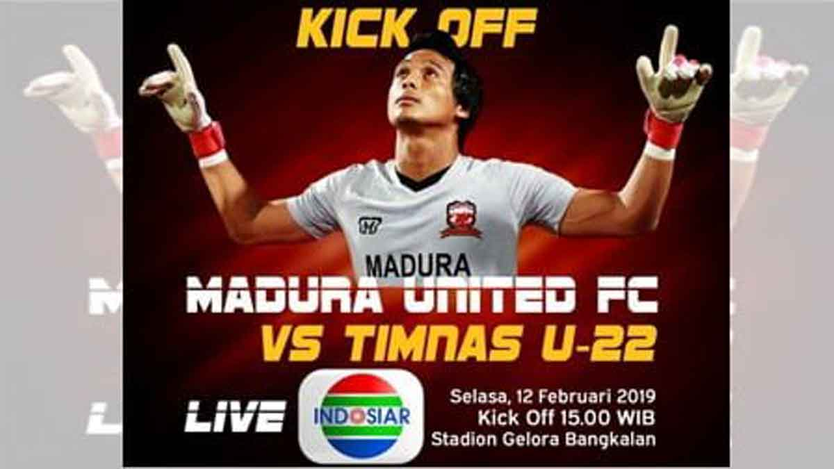 Madura United Vs Timnas Indonesia U 22