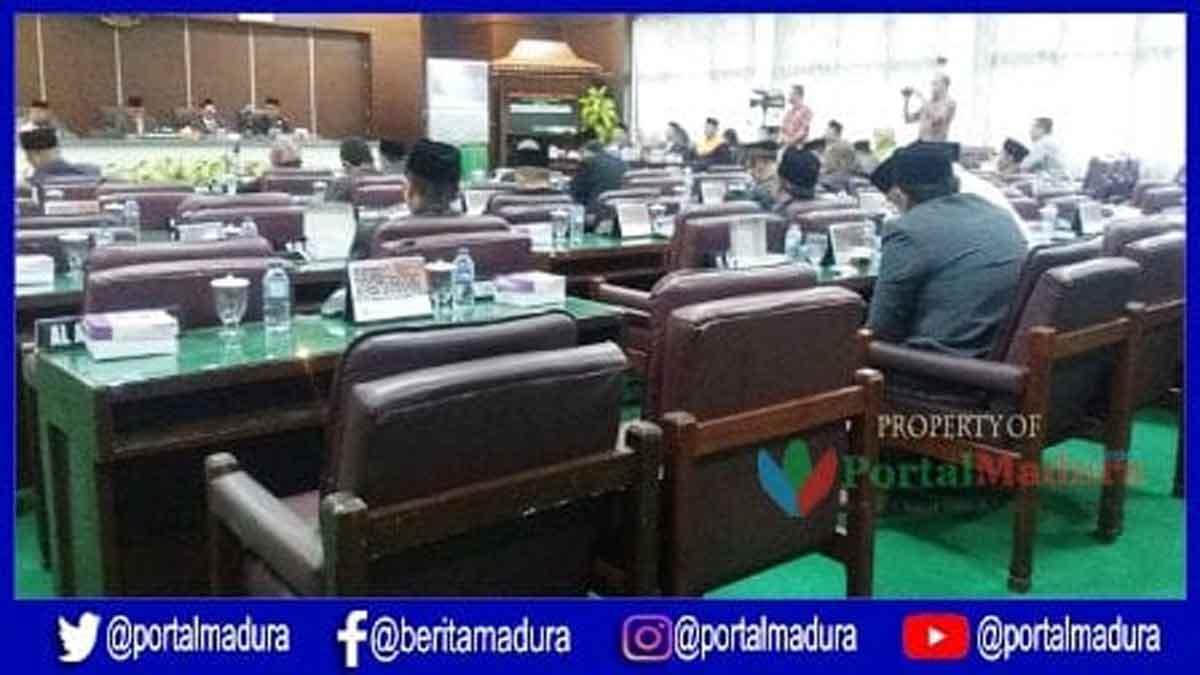 21 Anggota DPRD Pamekasan Absen Sidang Paripurna PAW
