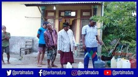 40 Warga Sumenep Jadi Sasaran Bantuan Tandon Air Bersih KKKS EML