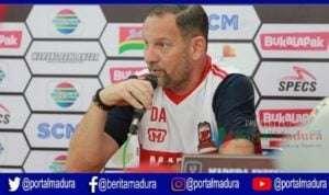 Imbang Lawan Persija, Madura United Fokus Hadapi Borneo FC