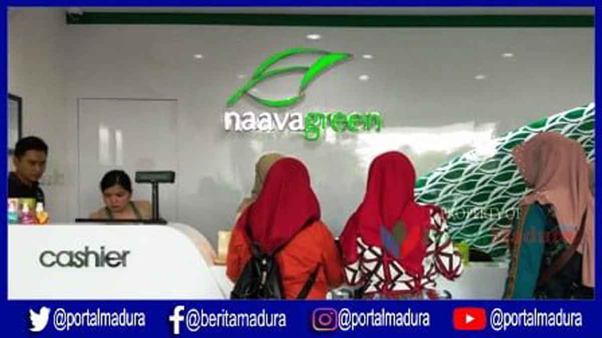 Naavagreen Natural Skincare Cabang Sumenep, di Jalan Trunojoyo, No. 43 (depan Taman Tajamara Kolor) Sumenep, Madura, Jawa Timur.
