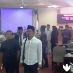 Ruang paripurna DPRD Bangkalan