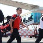 Skuad Sape Kerrab sudah tiba di bandara Juanda Surabaya