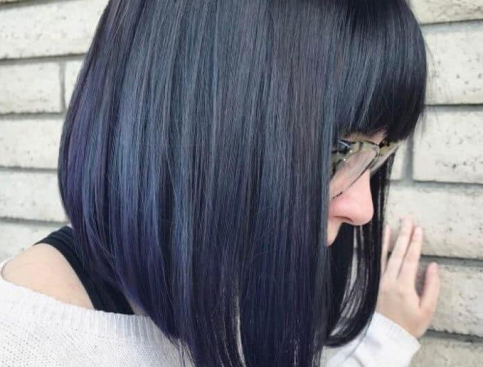 model rambut Bob Long Bangs