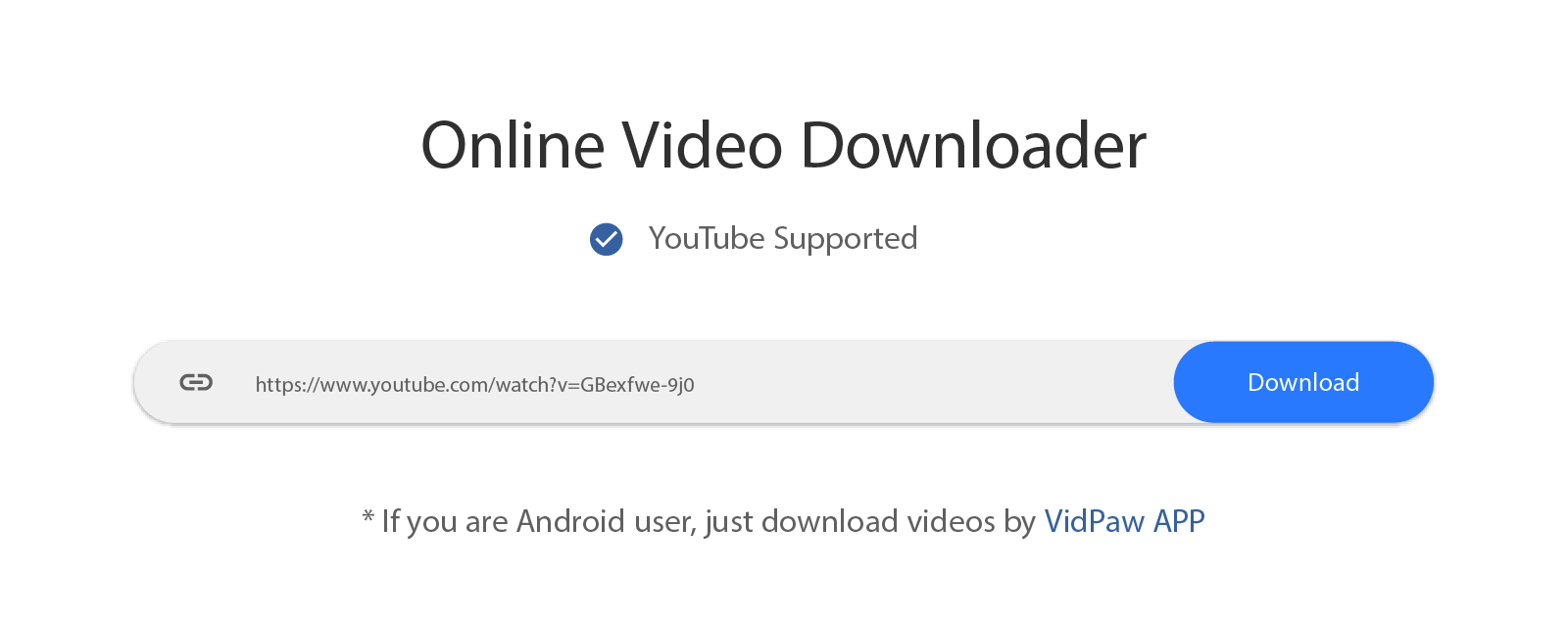 Download Video dari Youtube Menggunakan Vidpaw