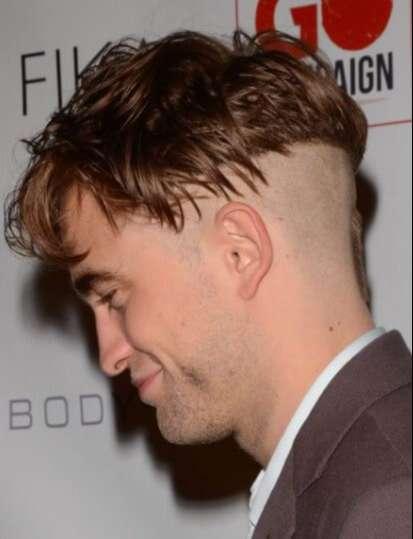 Model Rambut Pendek Pria BAGIAN BELAKANG