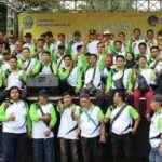 Wartawan bersama Bupati Bangkalan