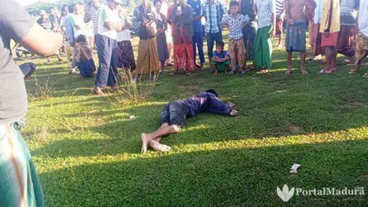 Dugaan Pembunuhan, Ini Identitas Mayat Pria Luka Bacok di Sampang