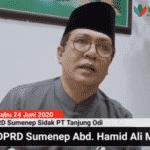 Ketua DPRD Sumenep A. Hamid Ali Munir