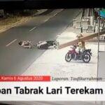 Korban tabrak lari terekam CCTV warga Sumenep (tangkapan layar)