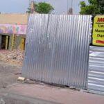 Salah satu pasar yang sedang direnovasi (Foto M. Saed @portalmadura.com)