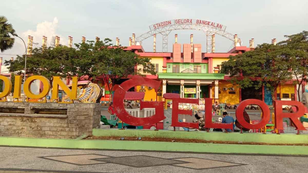 Stadion Gelora Bangkalan (SGB). (Foto. M Saed @portalmadura.com)