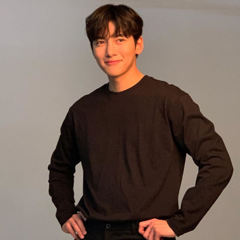 model rambut pria korea Curtain Haircut Ji Chang Wook