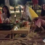 Asyiknya BBQ Malam Hari di Wisata Pantai eKasoghi Sumenep