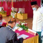 Cabup Sumenep Achmad Fauzi Nyoblos di TPS 3 Torbang