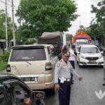 Banjir Blega, Arus Lalu Lintas Dialihkan ke Pantura Bangkalan
