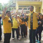 Senam Bersama Relawan Muhammad Ali Ridha Siap Menangkan Gus Acing Mas Kiai