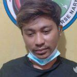Asik Menimbang Sabu, Pemuda Bangkalan Diciduk Polisi