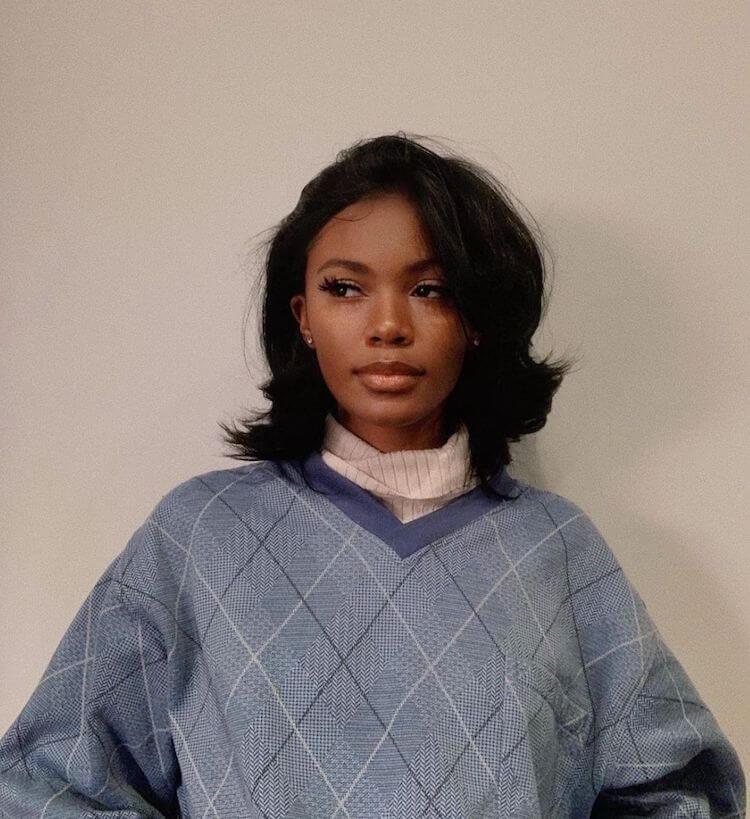 Gaya Rambut Wanita 2021 Soft curved bob