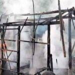 Rumah Terbakar, Uang Rp 30 Juta Jadi Arang