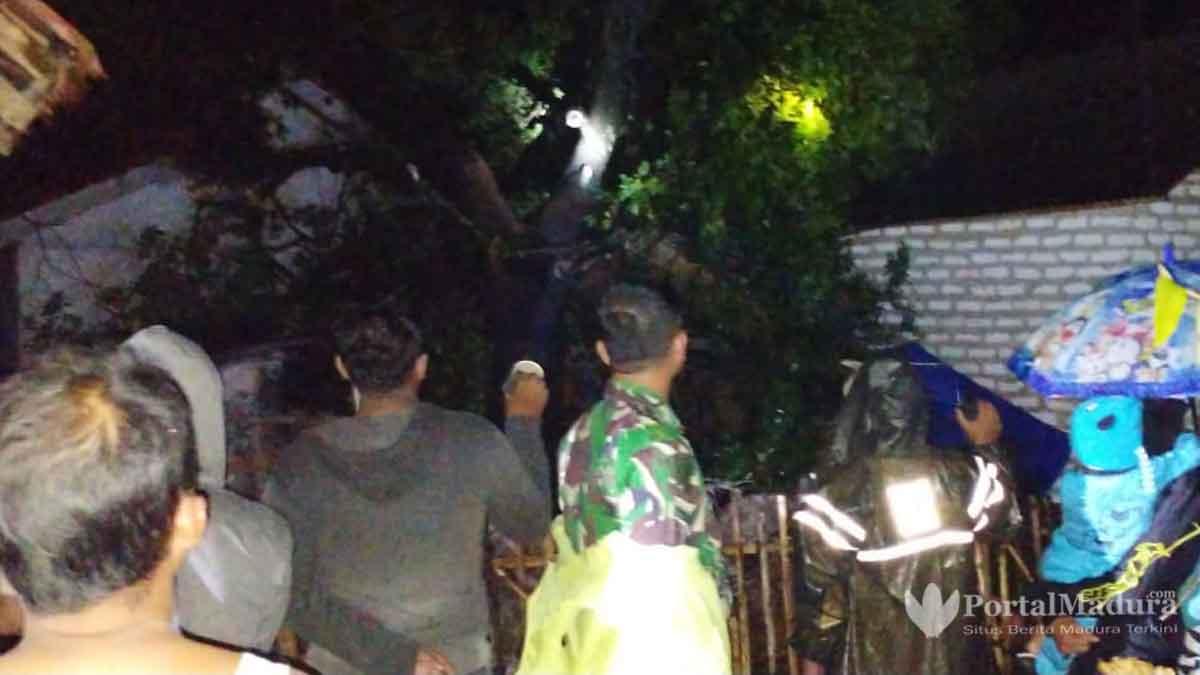 Data Kerusakan Akibat Puting Beliung Landa 5 Desa di Saronggi Sumenep
