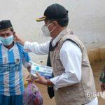 Korban Banjir Sumenep Dapat Bantuan Sembako Makanan Siap Saji