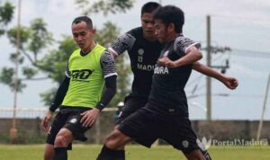 Madura United Jalani Training Center di Batu