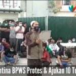 Warga Karantina BPWS Protes Ajukan 10 Tuntutan
